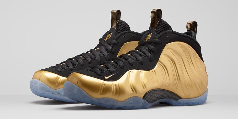 "bf9fb09edf3 Reminder  Nike Air Foamposite One ""Metallic Gold"" Releases Tomorrow"