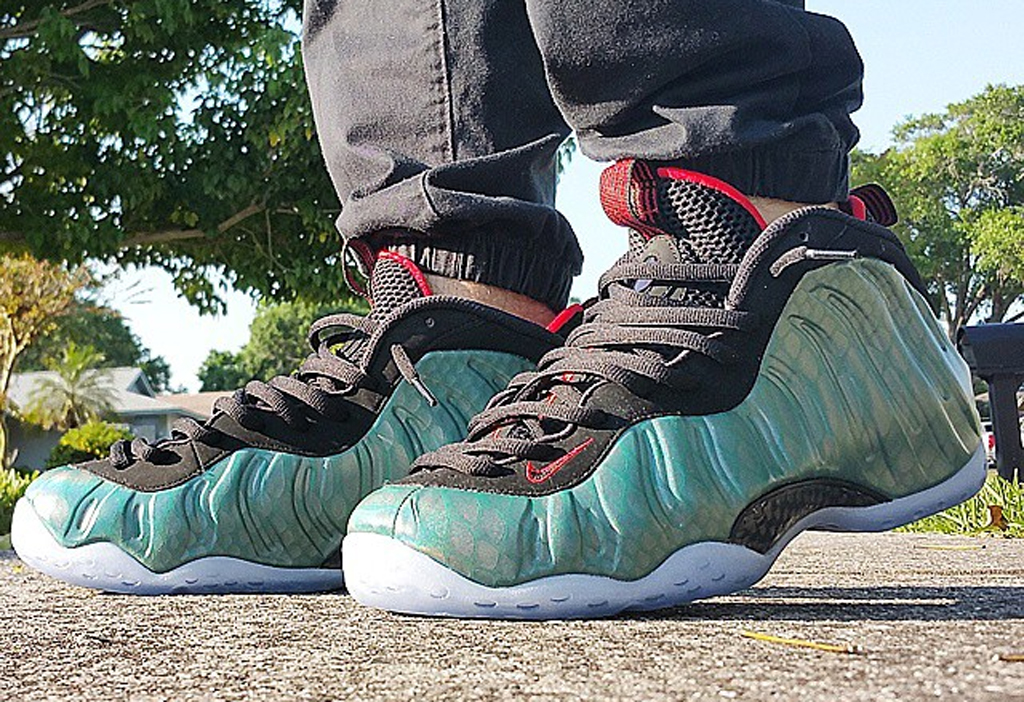 "super popular 3d276 c9c2a Nike Air Foamposite One ""Gone Fishing"" Images, Release Date"