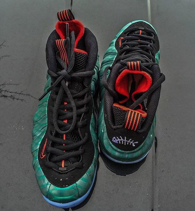 dff7a4a4823f4 Color  Dark Emerald Challenge Red-Black Style  575420-300. Release   06 20 2015. Price   250.00. NIKE AIR FOAMPOSITE ONE PRM GONE FISHING ...