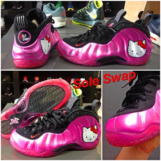 Hello Kitty Air Jordan Shoes