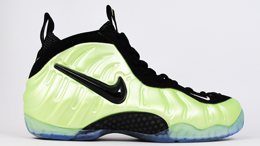 more photos 16f42 be08f Nike Air Foamposite Pro Electric Green Black-White