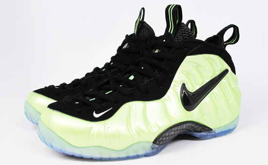 brand new 5b501 4c467 Nike Foamposite Pro Color  Electric Green Black-White Release Date   03 05 2011