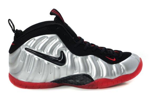 7e0166a615acc Nike Air Foamposite Pro Color  Metallic Platinum Black-Bright Crimson  Style  624041-016. Release  09 01 2012 (Possibly 08 31 2012) Price   220.00