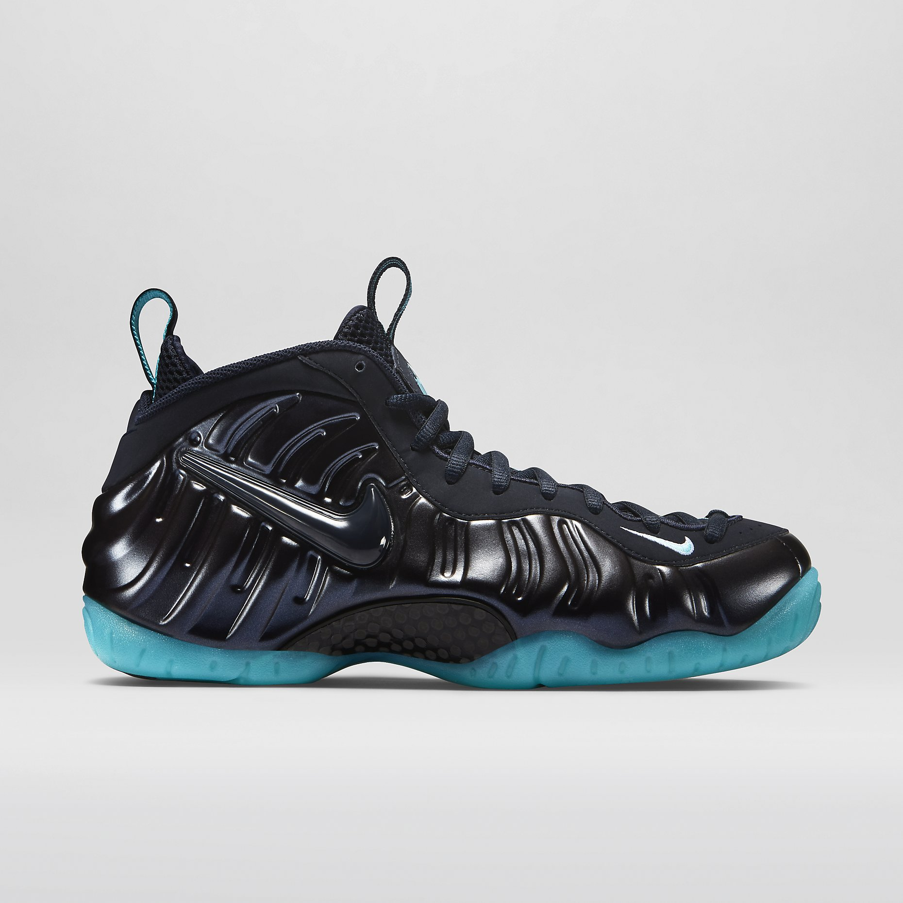 ef2c4042face9 Nike Air Foamposite Pro Color  Dark Obsidian Light Aqua-Dark Obsidian Style   624041-402. Release  02 06 2015. Price   230.00