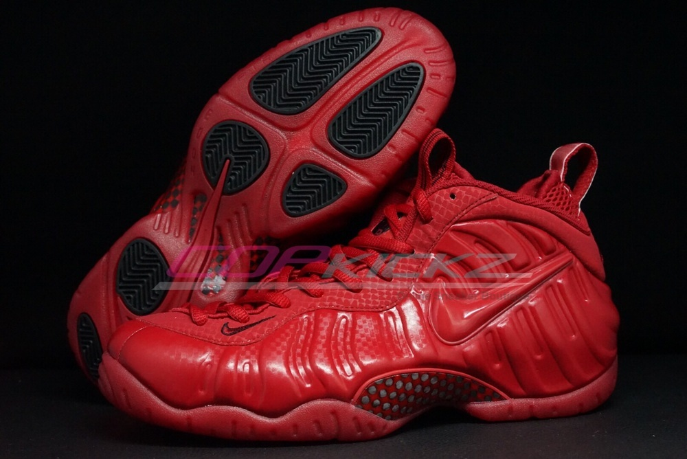 "new style 73253 ddb52 Nike Air Foamposite Pro ""Gym Red"""