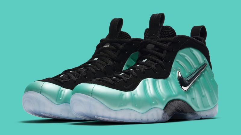 online store d397b bc997 Nike Air Foamposite Pro Island Green Releases this Friday ...