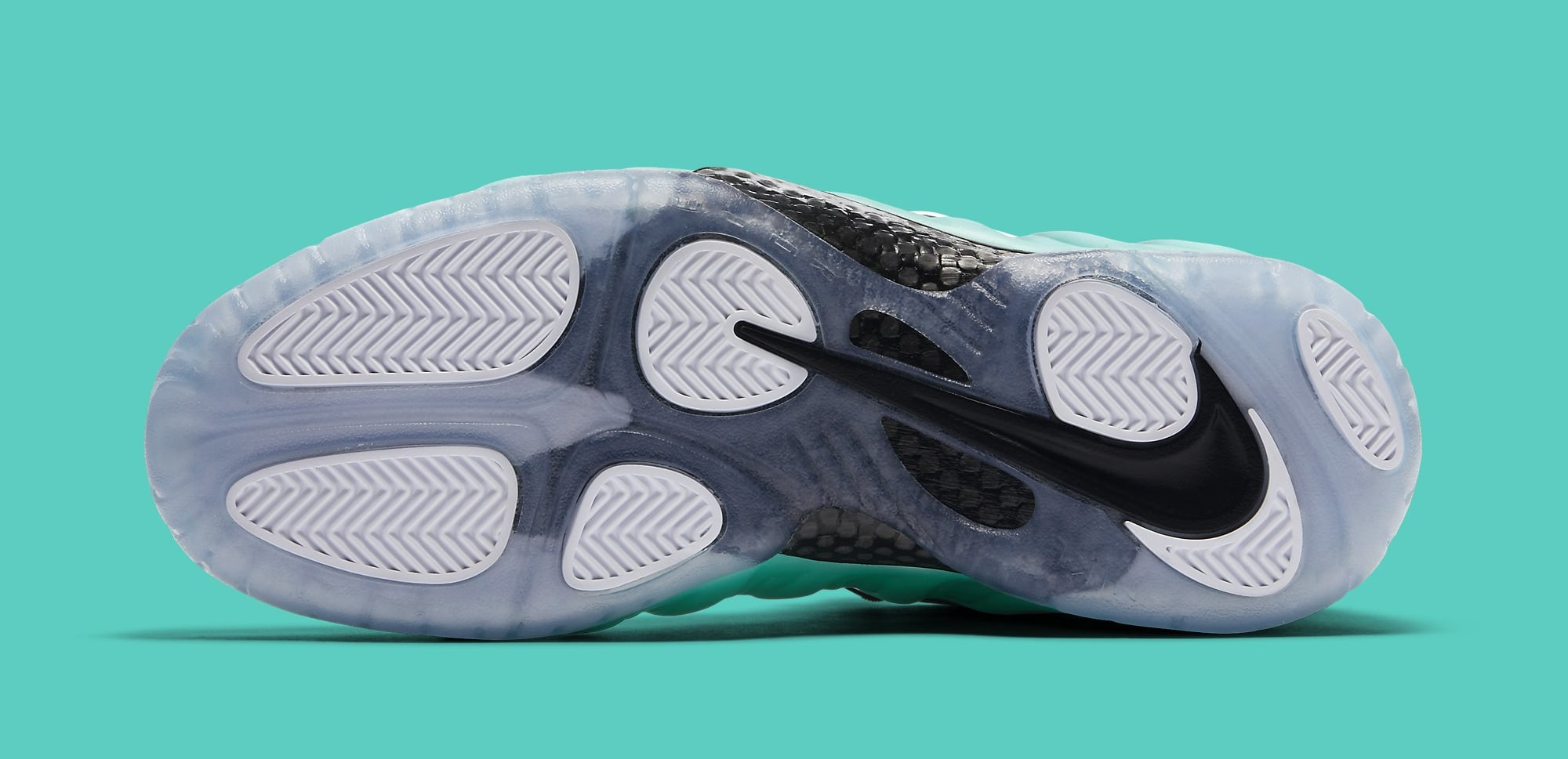 fadc86e388409 Nike Air Foamposite Pro Island Green Releases this Friday - Air 23 ...