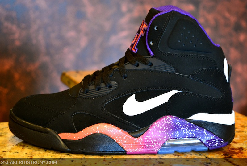 super popular b1e67 30cd2 Nike Air Force 180. Color  Black White-Court Purple-Rave Pink Style   537330-017. Release  11 15 2012. Price   130.00