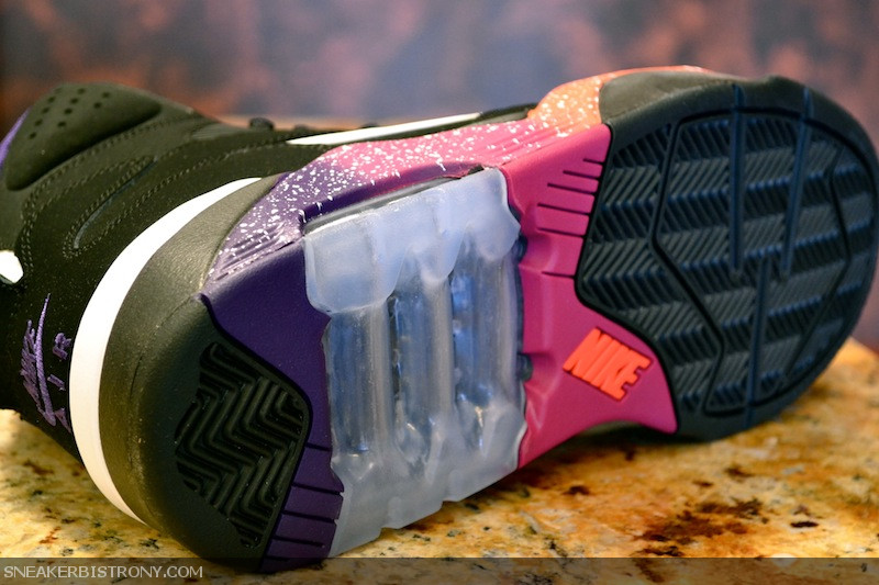 official photos 6223a c14ef Nike Air Force 180. Color BlackWhite-Court Purple-Rave Pink Style 537330- 017. Release 11152012. Price 130.00