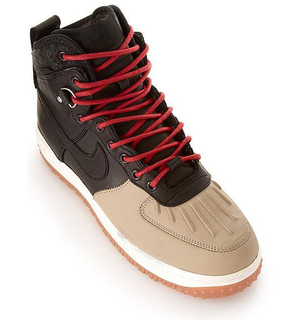 official photos f7214 47f85 Nike Air Force 1 High  Duckboot  Color  Brown Tan–Red Style  444745-003