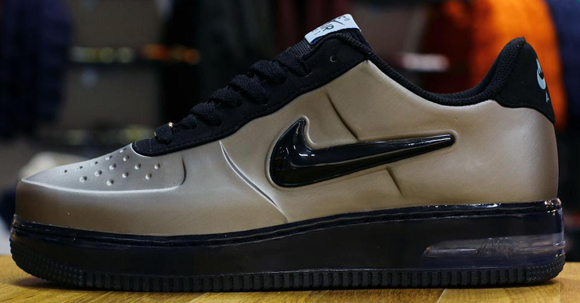 best service 41488 22ab4 Nike Air Force 1 Foamposite Low Color  Pewter Pewter Style  532461-001.  Release  10    2012. Click here for more pics and info…