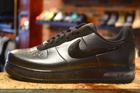 new concept df361 e0cb9 Nike Air Force 1 Foamposite Low Color  Anthracite Black Style  573976-     Release  01 26 2013. Price   185.00