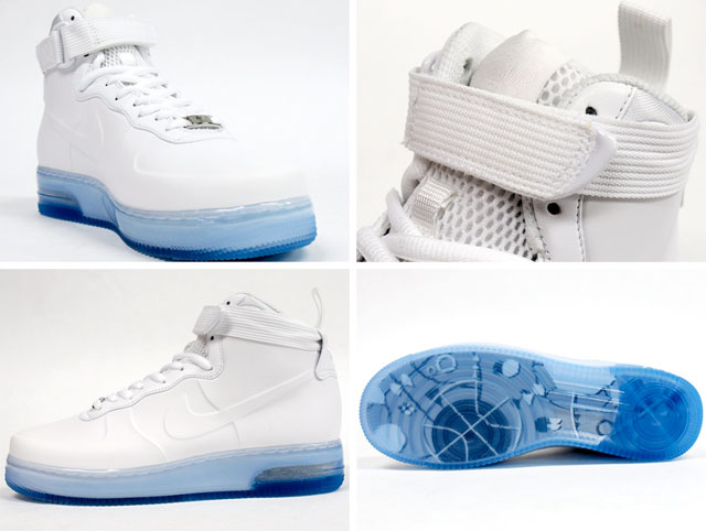 info for ee373 18f39 Nike Air Force 1 High Foamposite - White/White - Air 23 ...