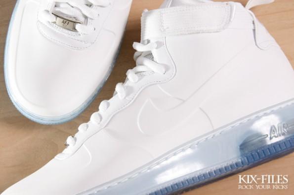los angeles 8a915 0c2b4 Nike Air Force 1 Foamposite White/White - New Pics - Air 23 ...