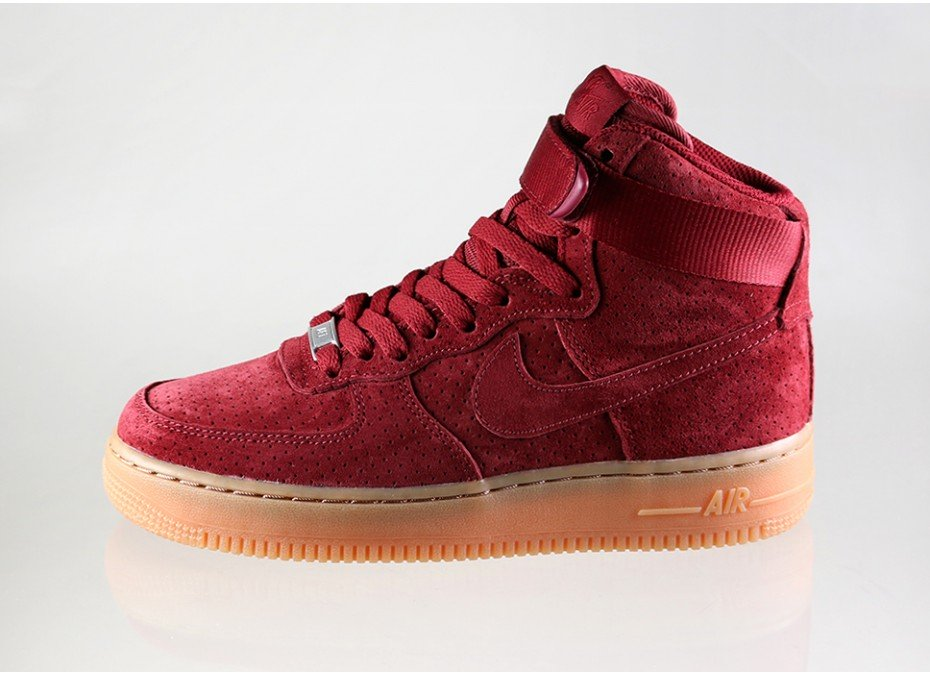 premium selection 52a5d 17588 Nike Women's Air Force 1 Hi Suede