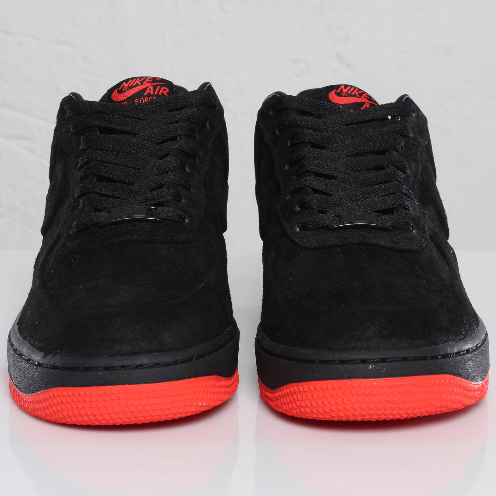 Air Force 1 Nike Red And Black