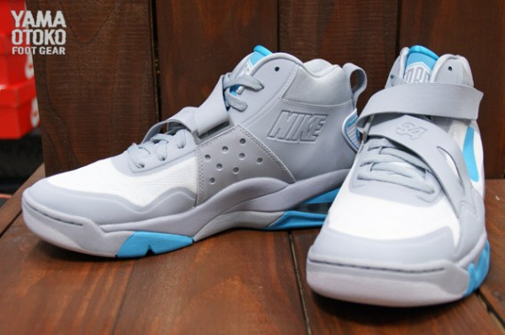58d8bfedf3d Nike Air Force Max CB 2 Hyperfuse – Wolf Grey White-Gamma Blue