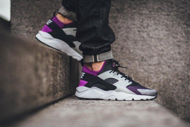 nike air huarache run ultra purple dynasty. Nike Air Huarache Run Ultra  Color: Black/Hyper Violet-Purple Dynasty-Wolf Grey