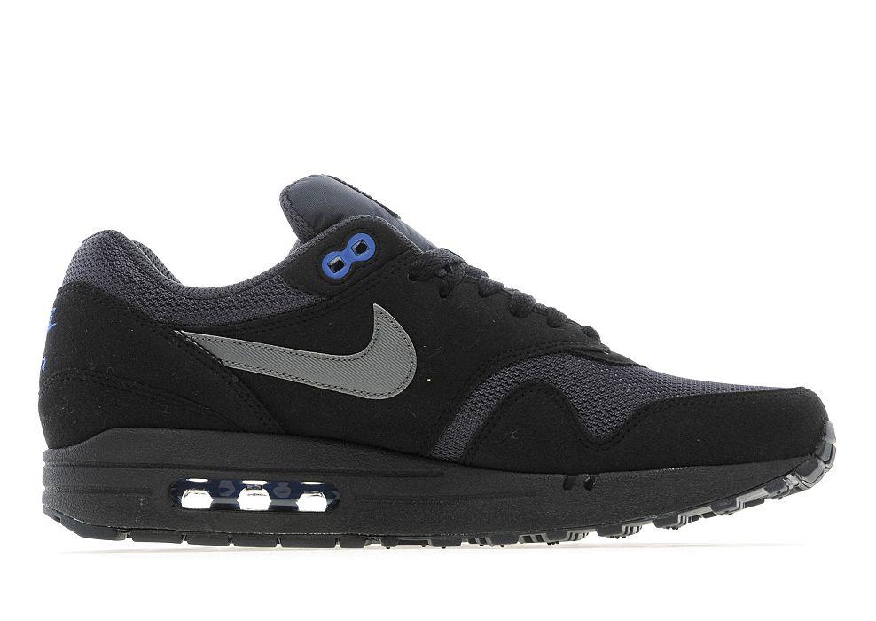 air max 1 black blue