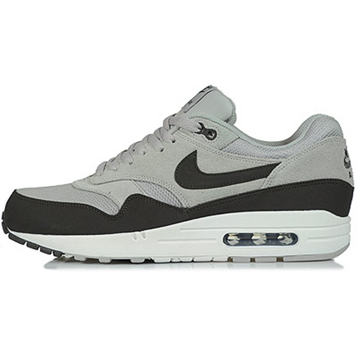 differently 2dd6e 81732 Nike Air Max 1. Color  Granite Deep Smoke-Sail Style  512033-010