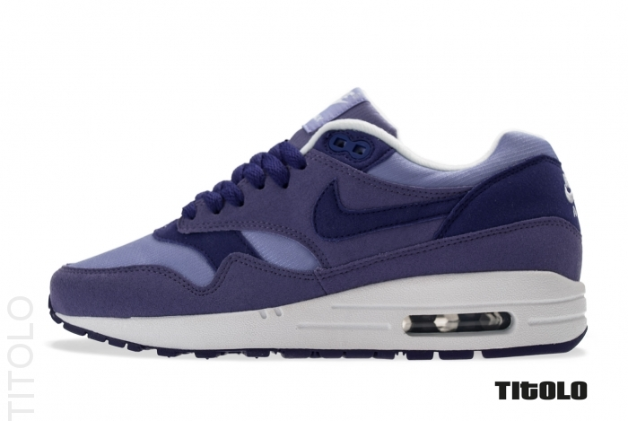 timeless design a8744 d7a4c Nike Air Max 1 Womens Color  Medium Violet Court Purple-Purple Earth-White  Style  319986-503