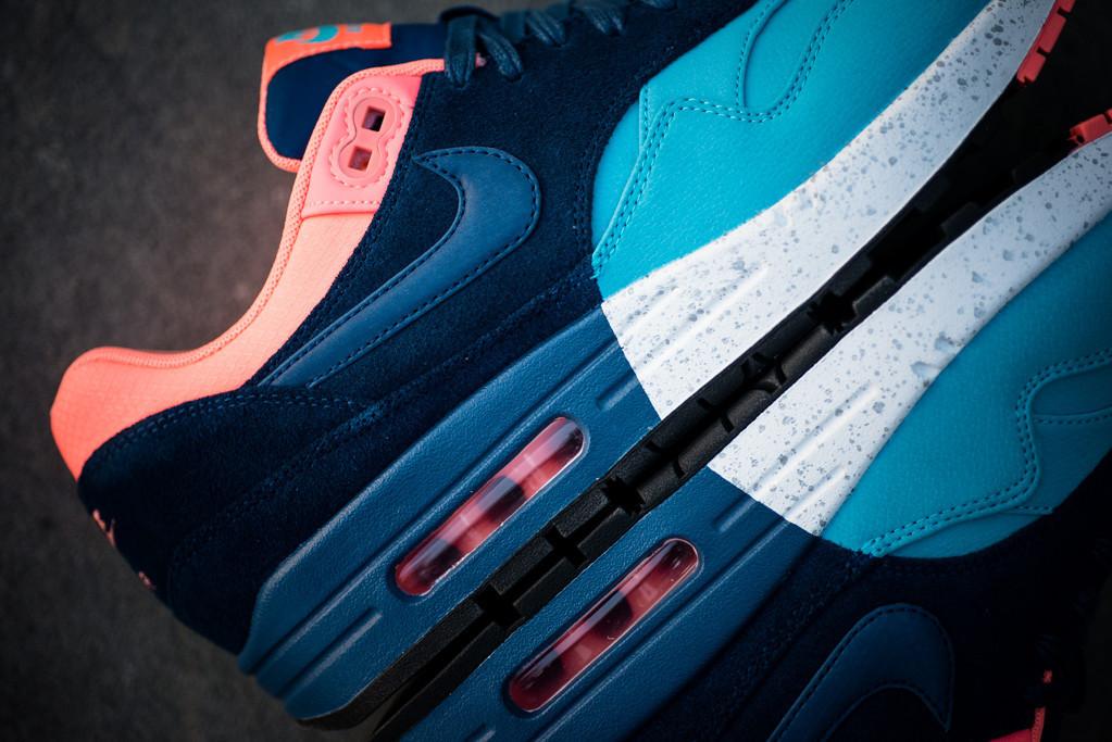Nike Air Max 1 Gamma BlueBrave Blue Black Atomic Pink