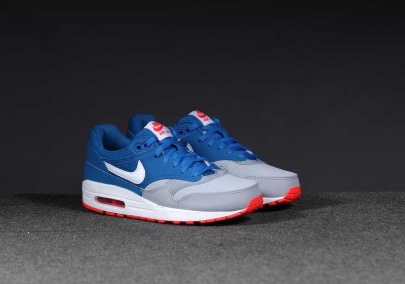 quality design 7518a 338ca air max 1 youth gs red grey