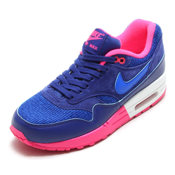 cheap for discount 98e5a 0d0ea Nike Air Max 1 Womens Blue White Grey