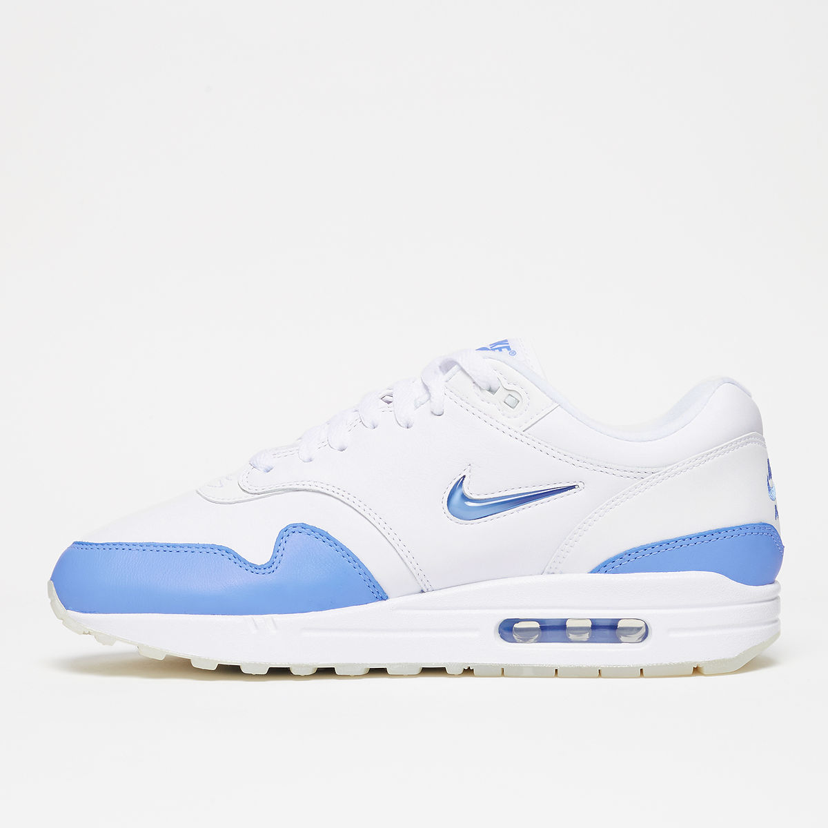 purchase cheap 17dfd d9fa4 Nike Air Max 1. Color  White University Blue-University Blue Style  918354-102.  Release Date  07 13 2017