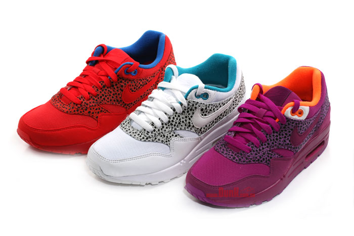 Nike Air Max 1 Safari Pack on