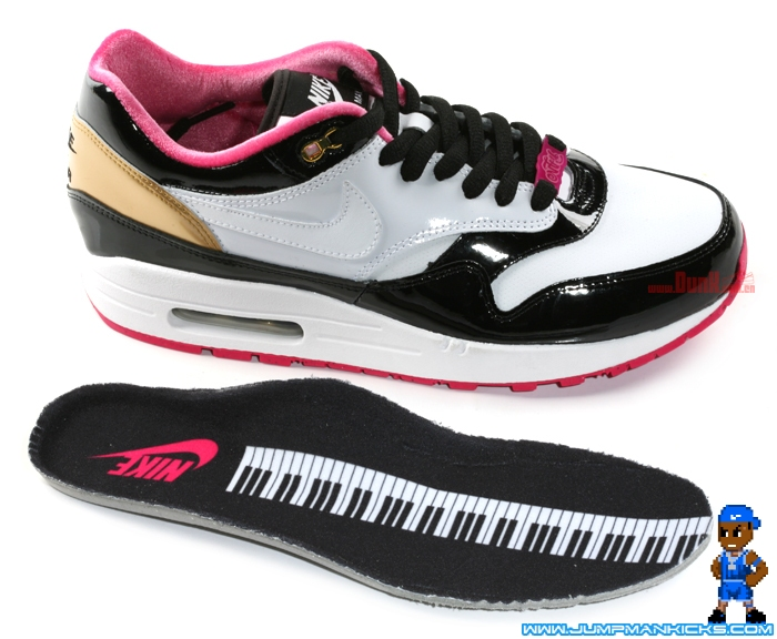 classic fit 72a12 eb674 Nike x PHANTACi Air Max 1 Grand Piano on ebay