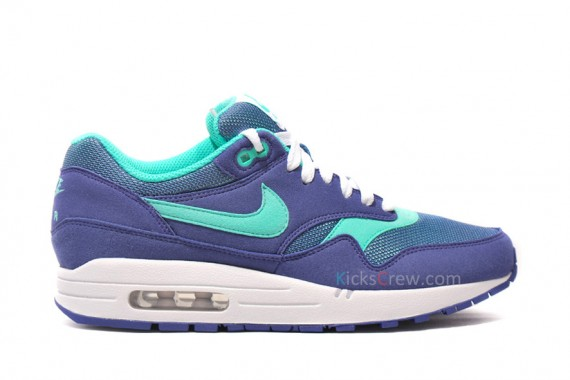 quality design 59166 964dc Nike Womens Air Max 1. Color: Wicked Purple/Cool Mint-White Style:  319986-500