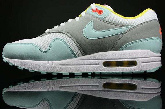 huge discount 8bd60 081b3 Nike Womens Air Max 1 Julep/White-Matte Silver - Air 23 - Air Jordan ...