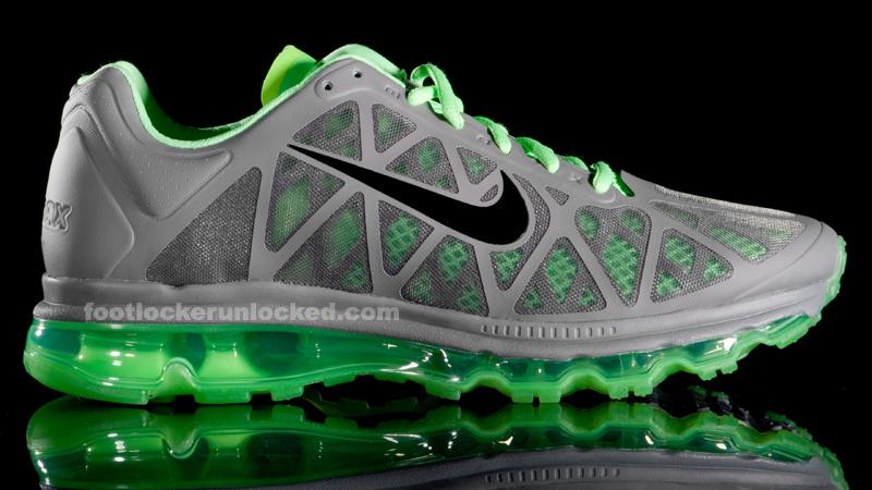 sports shoes 037e4 18e0e Nike Air Max 2011 Cool Grey Neon Green - Air 23 - Air Jordan Release Dates,  Foamposite, Air Max, and More