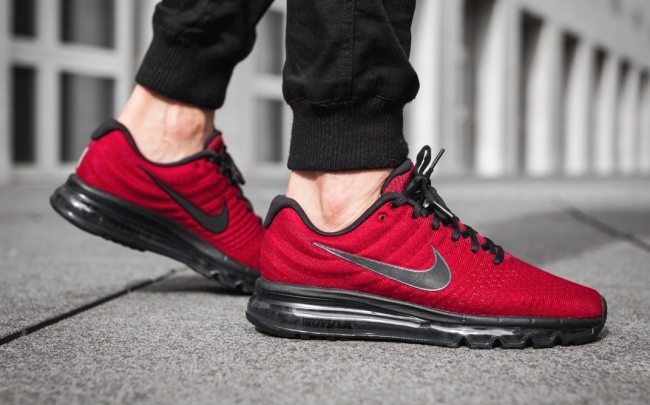 nike air max 2017 team red