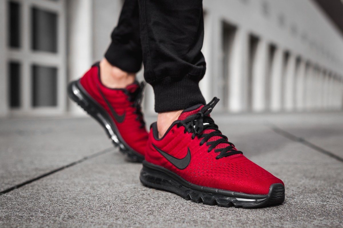 29fe51724ee4 Nike Air Max 2017. Color  Team Red Black-Dark Grey Style  849559-603.  Price   190.00