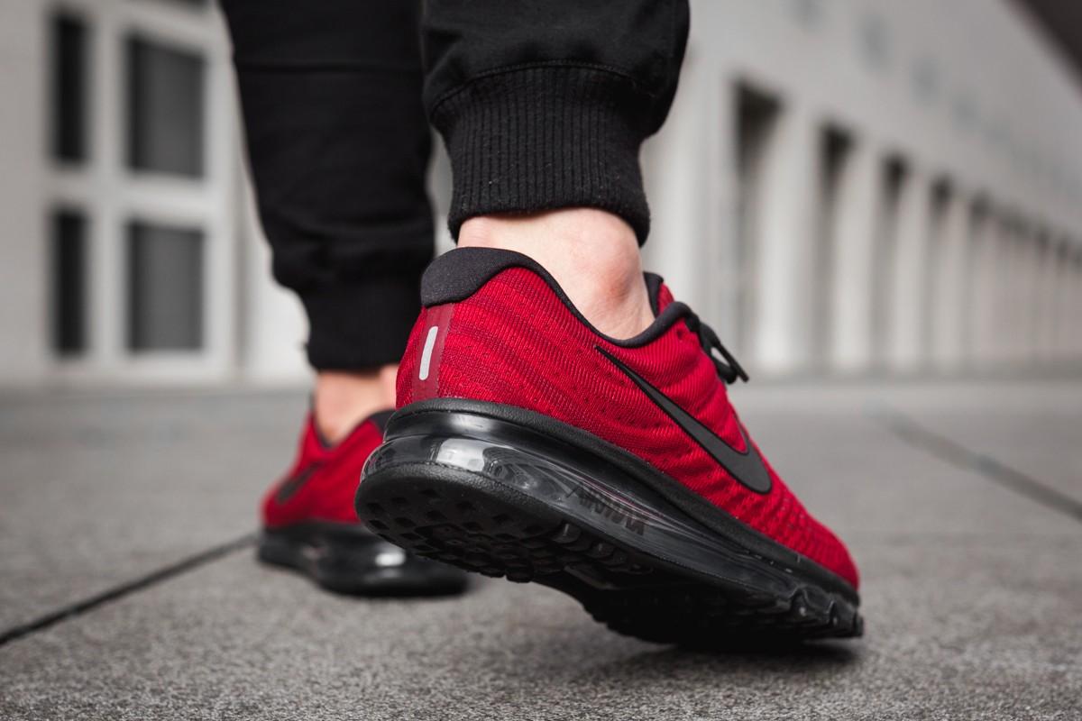 nike air max 2017 red black