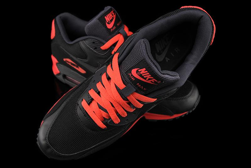Nike Air Max 90 EM Mens Black Red