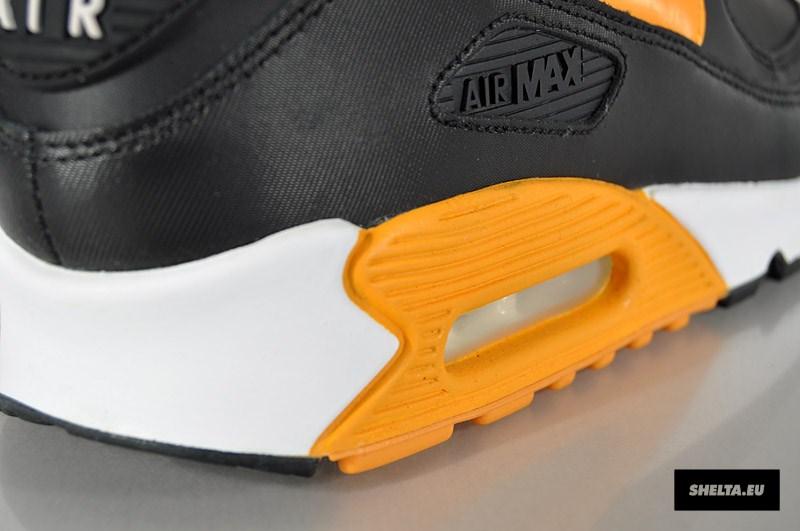 Nike Air Max 90 Avgjørende Svart Canyon Gull V8fv5Px