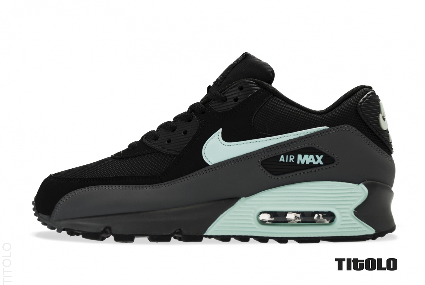 nike air max 90 essential black mint candy. Black Bedroom Furniture Sets. Home Design Ideas