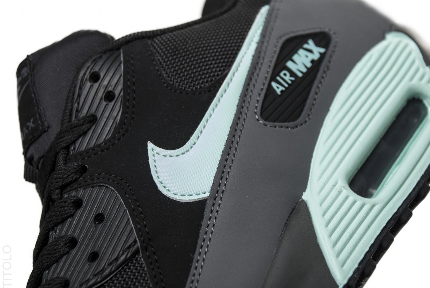 Nike Air Max 90 Ultra 2.0 Essential Black Mint Foam Black