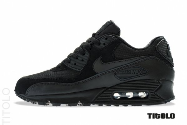 quality design 292ea cc112 Nike Air Max 90 Essential Color  Black Black-Black-Black Style  537384-090