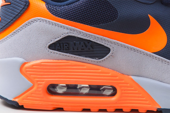 e11d27097d49 A matching sole completes the theme and provides the cushioning. Expect to  see these in stores soon. nike Air Max 90 ...