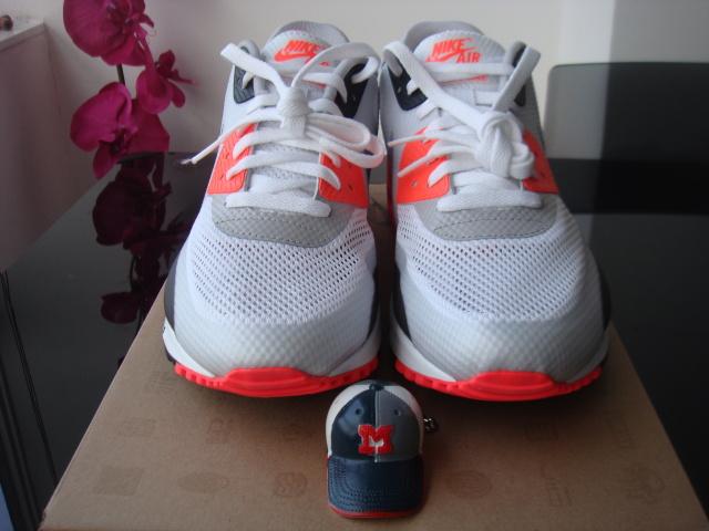 Nike Air Max 90 Hyperfuse Infrarossi Ebay All'asta 2IxAcfvbW