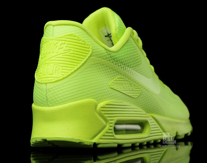 nike air max 90 hyperfuse green yellow