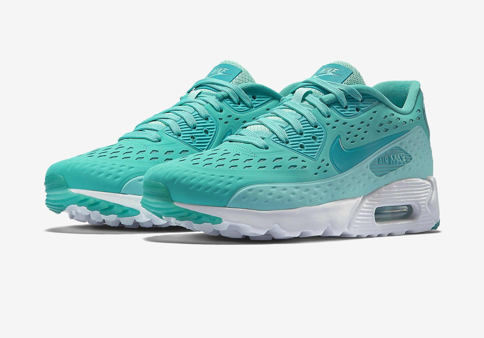 Nike Air Max 90 Ultra Breathe Light Retro Artisan Teal