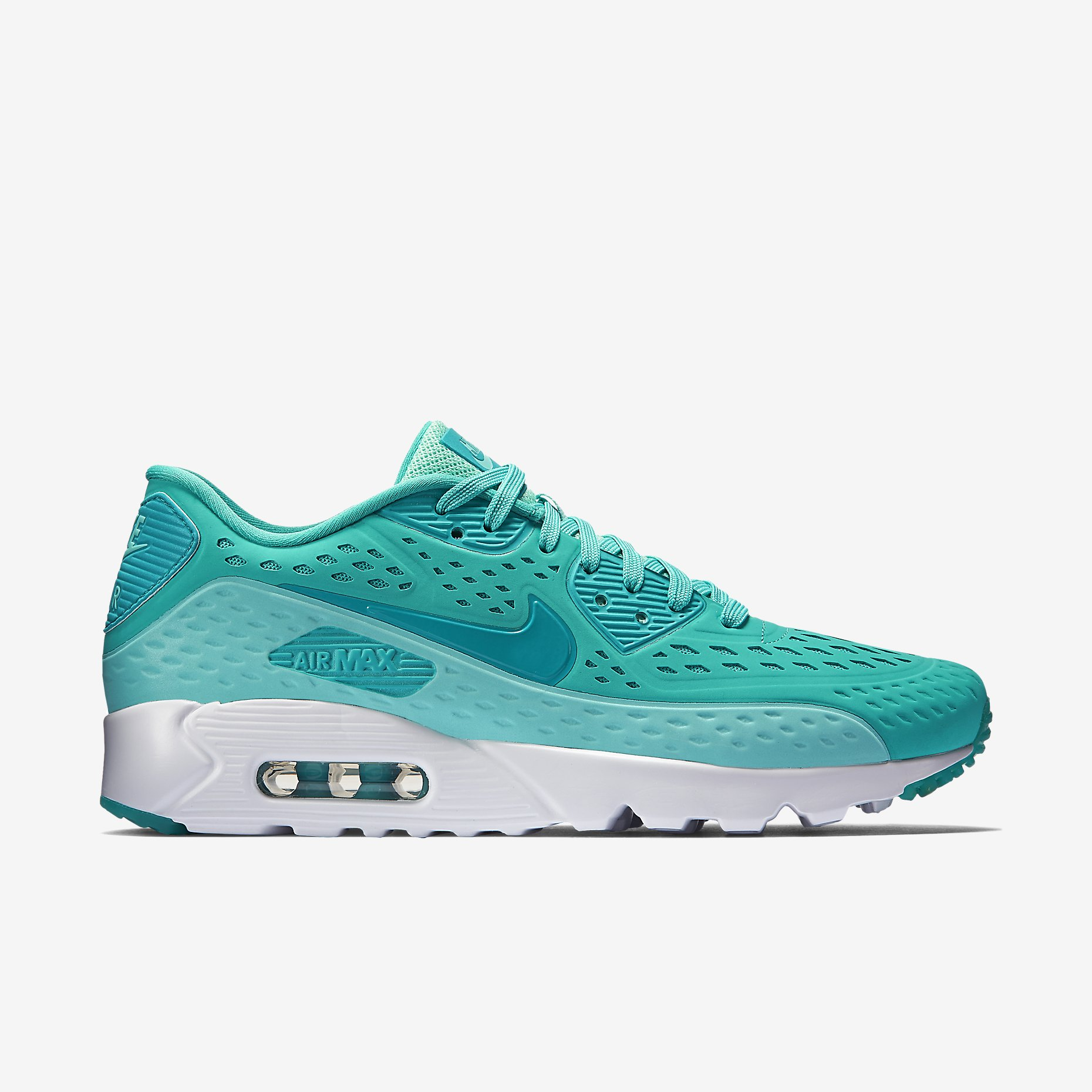 new styles 8f653 b55b1 Nike Air Max 90 Ultra BR Color  Light Retro Artisan Teal-White-Turbo Green  Style  725222-403. Price   130.00