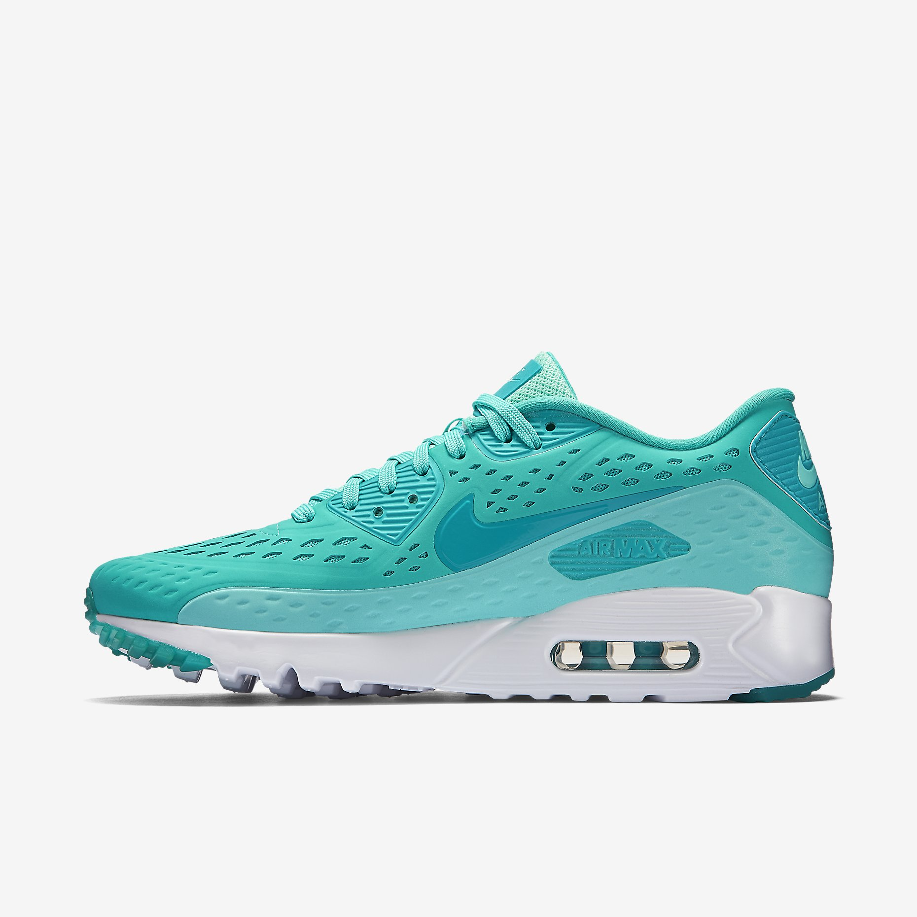 save off abbf2 3efd3 Womens Nike Air Max 90 Ultra Breathe Sneakers New, Black Grey 725061-002