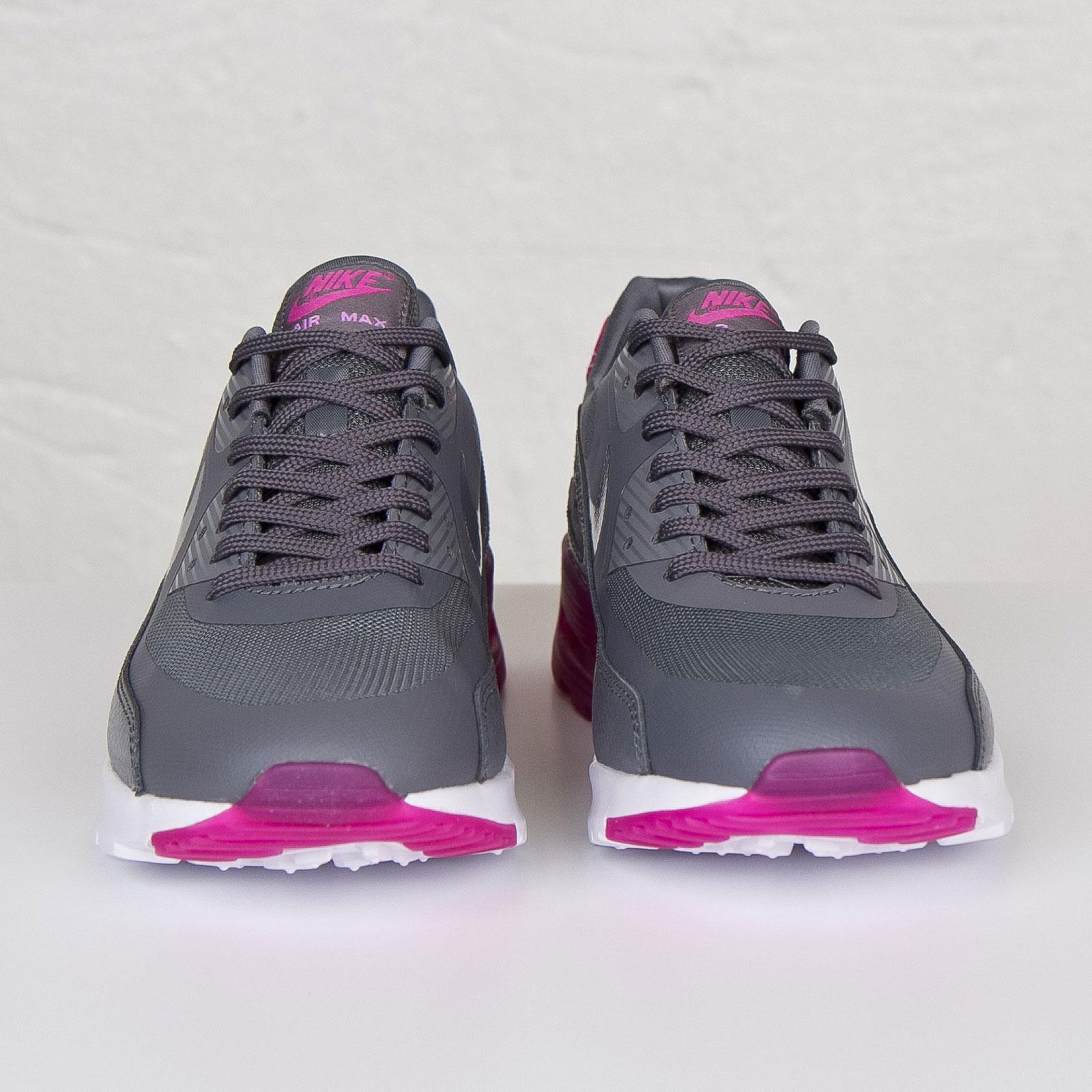 new product 3fa35 85e52 Nike Women s Air Max 90 Ultra Essential - Cool Grey   Fuchsia Flash - Air  23 - Air Jordan Release Dates, Foamposite, Air Max, and More