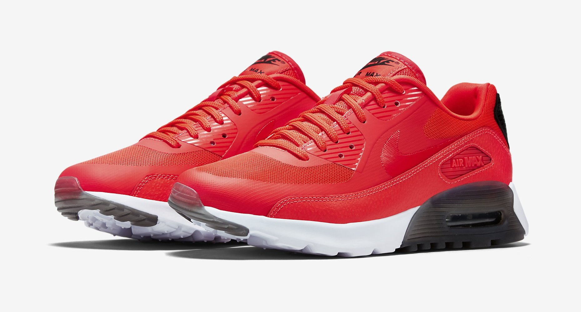 Nike Women's Air Max 90 Ultra Essential Infrared Black